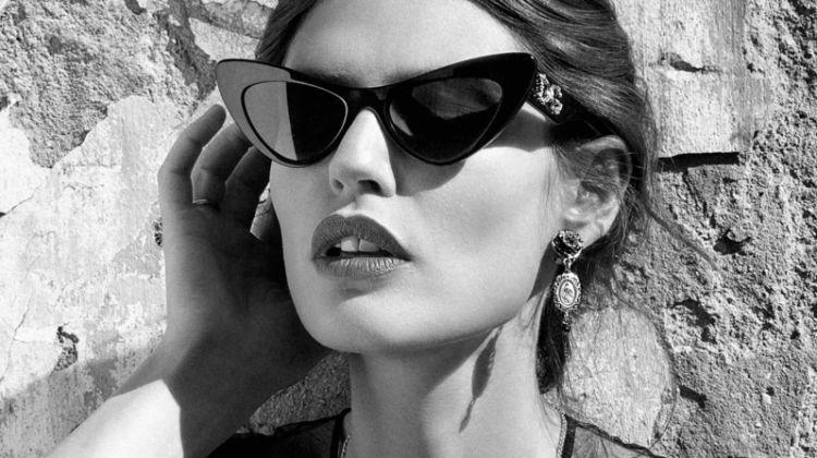 Bianca Balti stars in Dolce & Gabbana Eyewear spring-summer 2020 campaign
