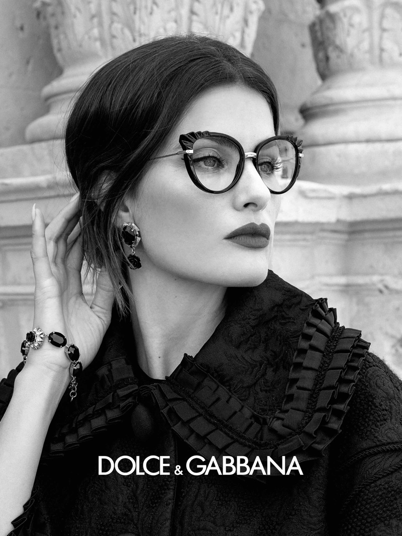 An image from Dolce & Gabbana Eyewear's spring 2020 advertising campaign