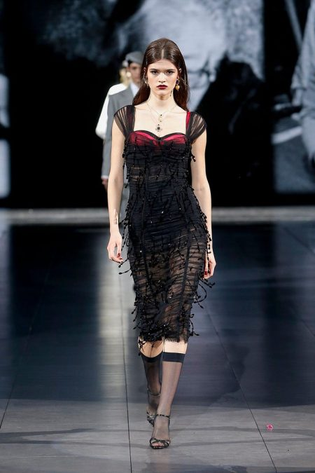 Dolce & Gabbana Focuses on Layering for Fall 2020