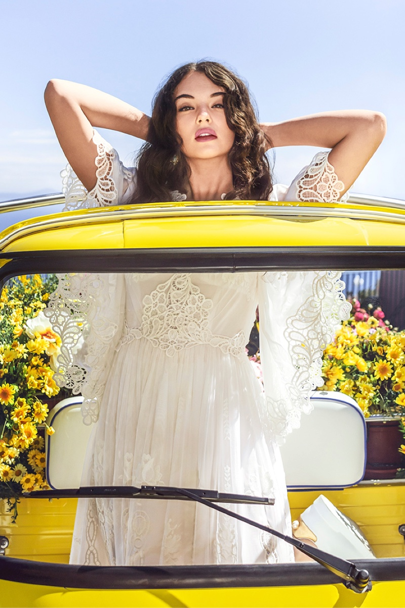 BEHIND THE SCENES: Deva Cassel for Dolce & Gabbana Shine perfume shoot