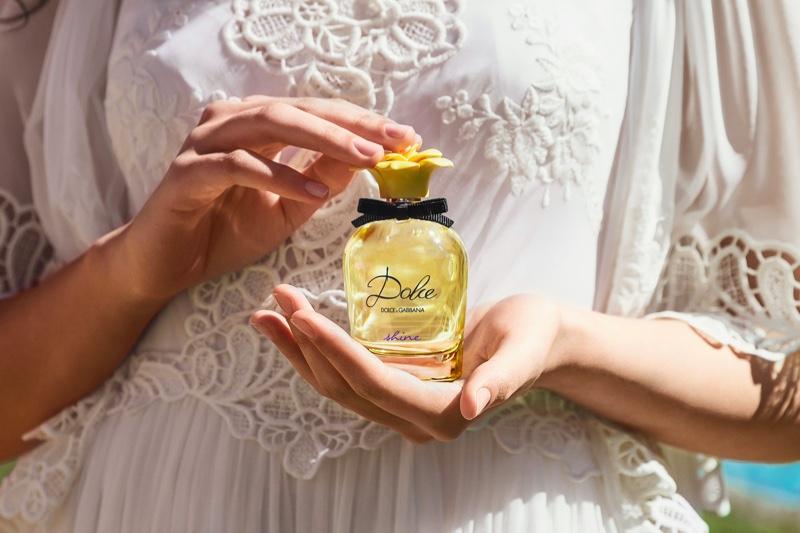 A look at Dolce & Gabbana's Shine perfume bottle