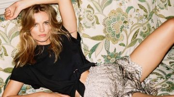 Edita Vilkeviciute Strikes a Pose for PORTER Edit
