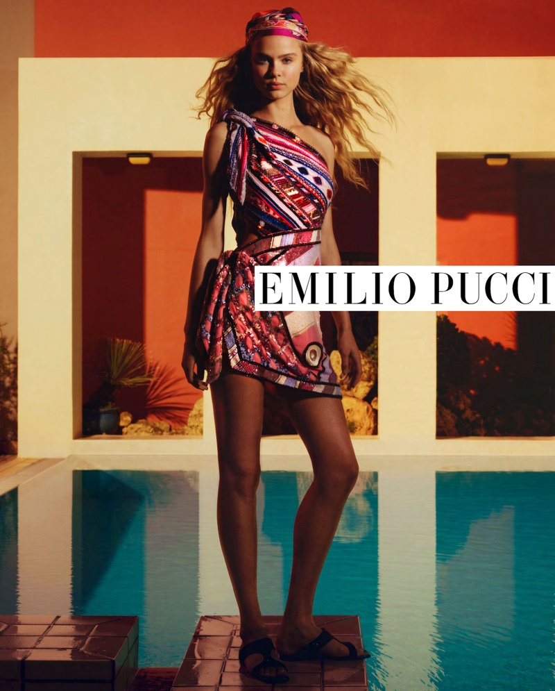 Emilio Pucci focuses on prints with spring-summer 2020 campaign