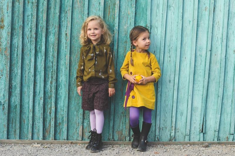 Fashionable Kids Modeling