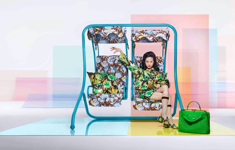 Prints stand out in Fendi spring-summer 2020 campaign