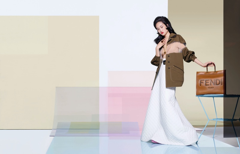 An image from Fendi's spring 2020 advertising campaign