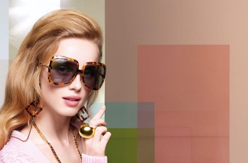 Fendi features sunglasses in Fendi spring-summer 2020 campaign