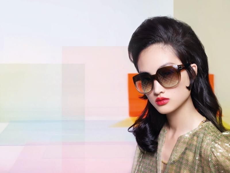 Model Jing Wen fronts Fendi spring-summer 2020 campaign
