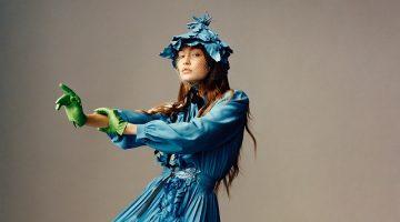 Gigi Hadid Poses in Avant-Garde Fashions for i-D Magazine