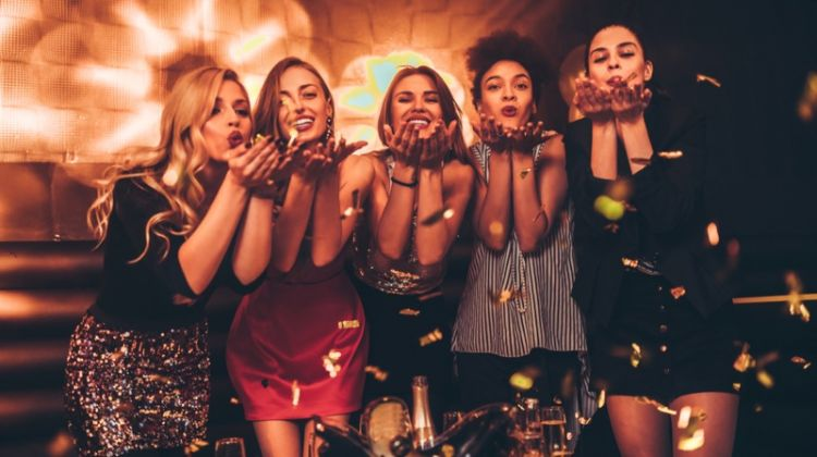 Girls Night Out Friends Style Fashion