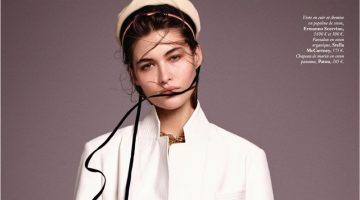 Grace Elizabeth Embraces Nautical Fashion for Vogue Paris