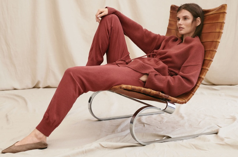 H&M Wool-Blend Cardigan and Cashmere-Blend Joggers