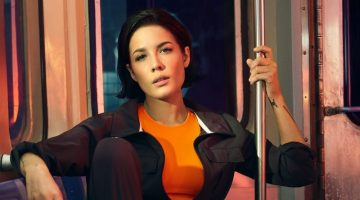 Halsey Poses On the Subway for DKNY Spring 2020 Campaign
