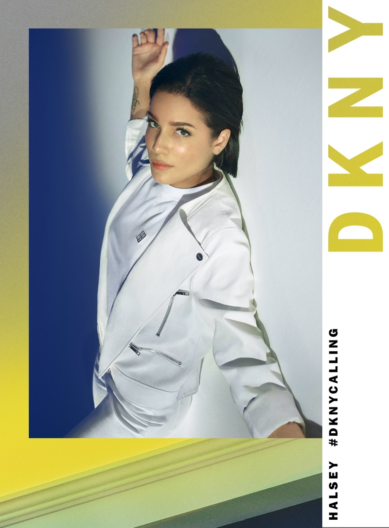 Halsey stars in DKNY spring-summer 2020 campaign