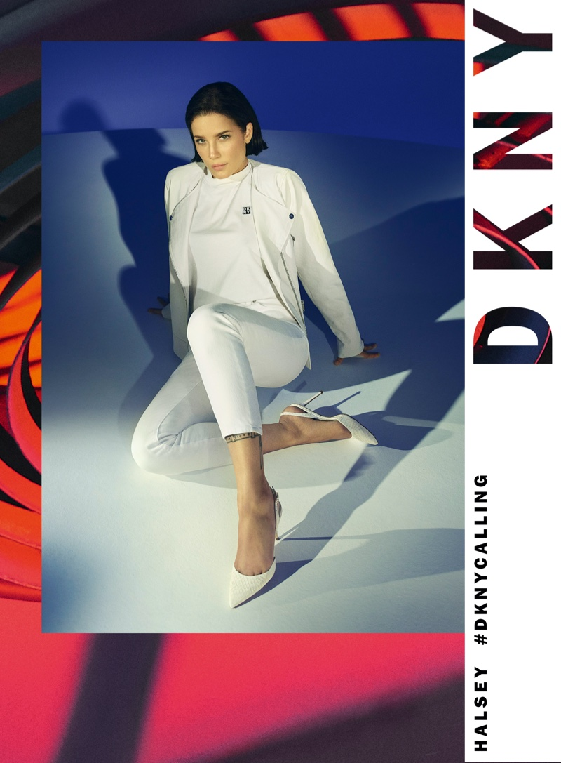 DKNY taps Halsey for spring-summer 2020 campaign