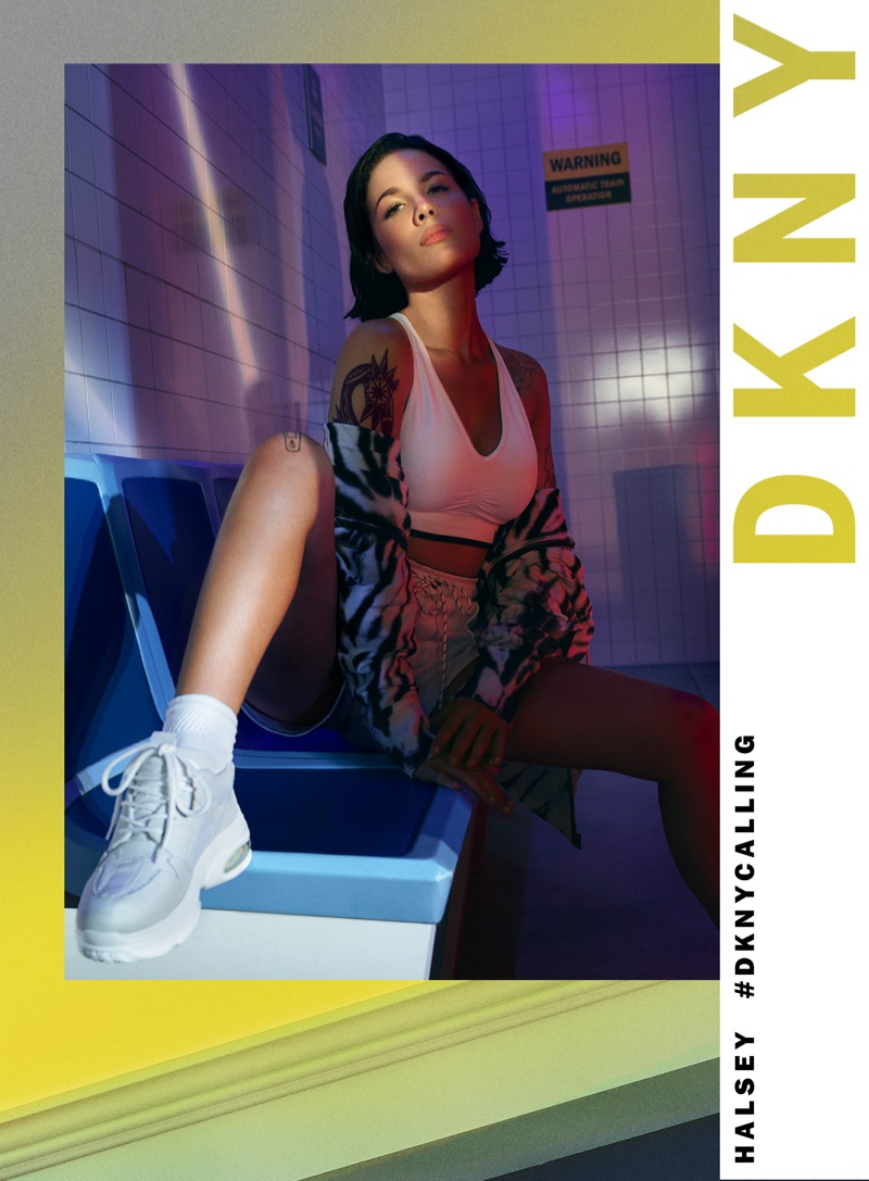 An image from DKNY's spring 2020 advertising campaign