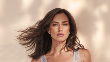 Irina Shayk stars in Intimissimi Green Collection campaign