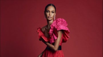 Joan Smalls Poses in Vibrant Shades for Harper's Bazaar Spain