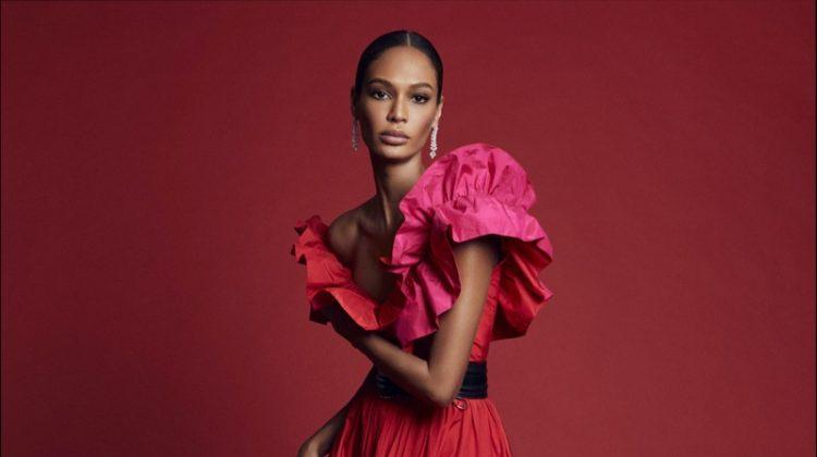 Joan Smalls Poses in Vibrant Shades for Harper's Bazaar Spain