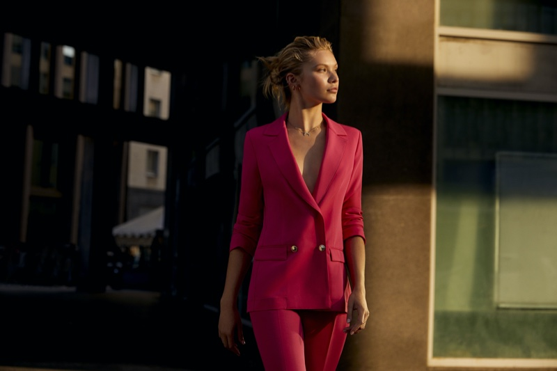 Suiting up, Josie Canseco fronts Kocca spring-summer 2020 campaign