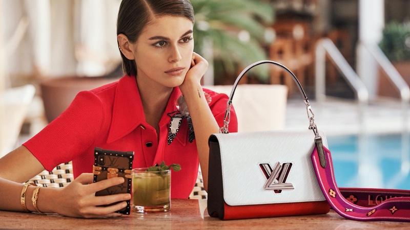 Louis Vuitton taps Kaia Gerber for Twist spring 2020 handbag campaign