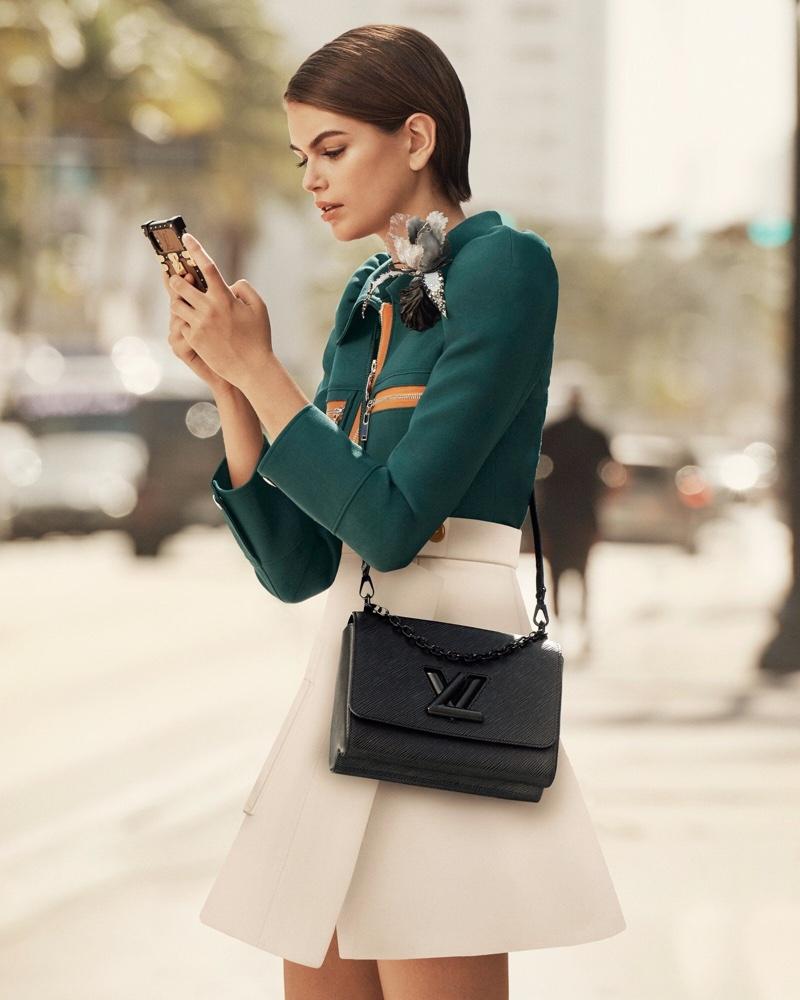 Kaia Gerber lands Louis Vuitton Twist handbag spring 2020 campaign