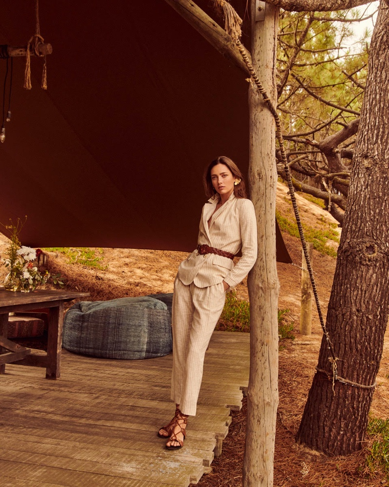 Andreas Ortner photographs Oui spring-summer 2020 campaign