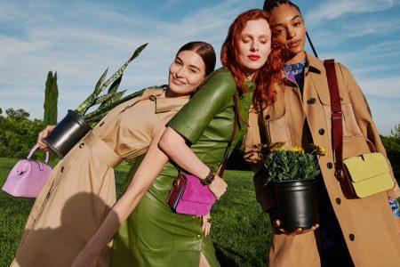 Grace Elizabeth, Karen Elson and Indira Scott star in Kate Spade spring-summer 2020 campaign
