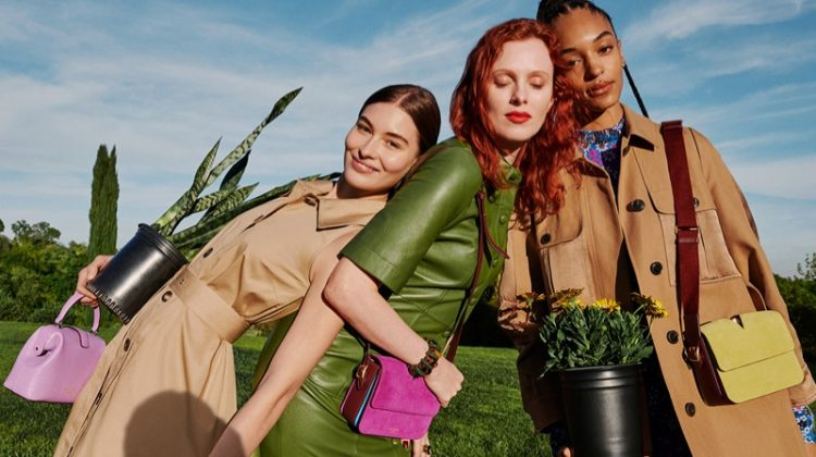 Grace Elizabeth, Karen Elson and Indira Scott star in Kate Spade spring-summer 2020 campaign
