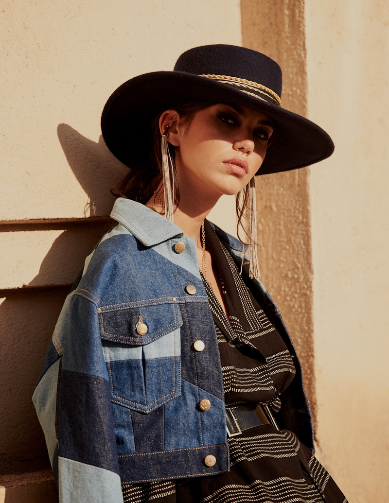 Kaya Dukic Wears Boho Styles for Cosmopolitan Turkey