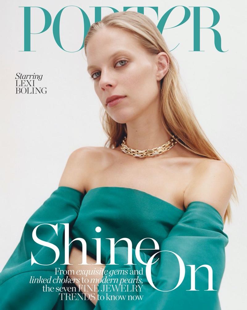 Lexi Boling Wears Elegant Jewelry for PORTER Edit