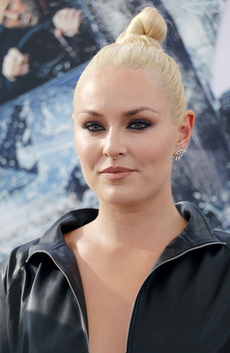 Lindsey Vonn at World premiere of 'Fast & Furious Presents: Hobbs & Shaw'
