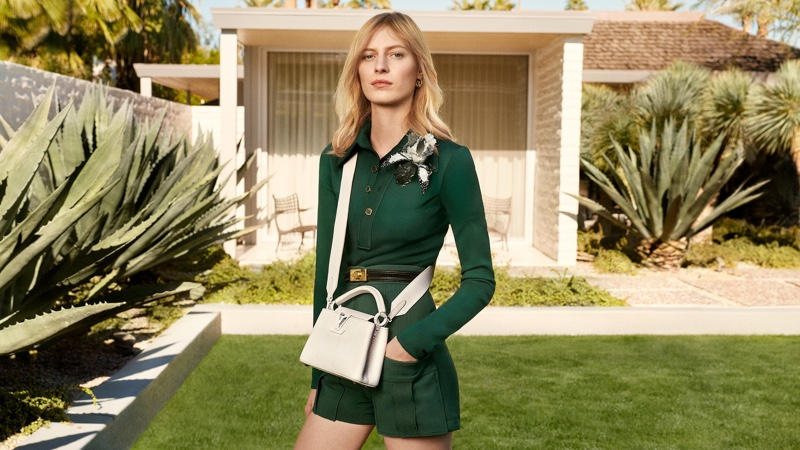 An image from Louis Vuitton Capucines' spring-summer 2020 campaign