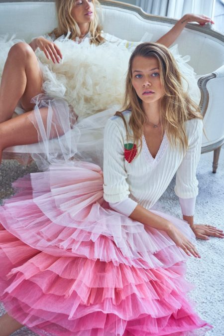 Maya & Alannah Enchant in LoveShackFancy Spring 2020 Campaign