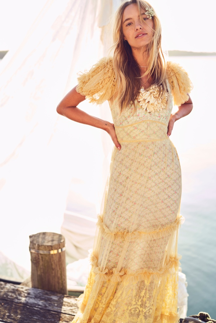 LoveShackFancy highlights dreamy dresses for spring 2020 campaign