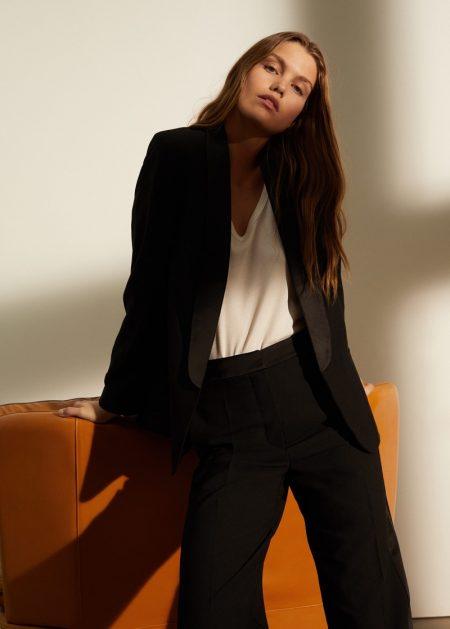 Luna Bijl Wears Effortlessly Chic Styles From Mango