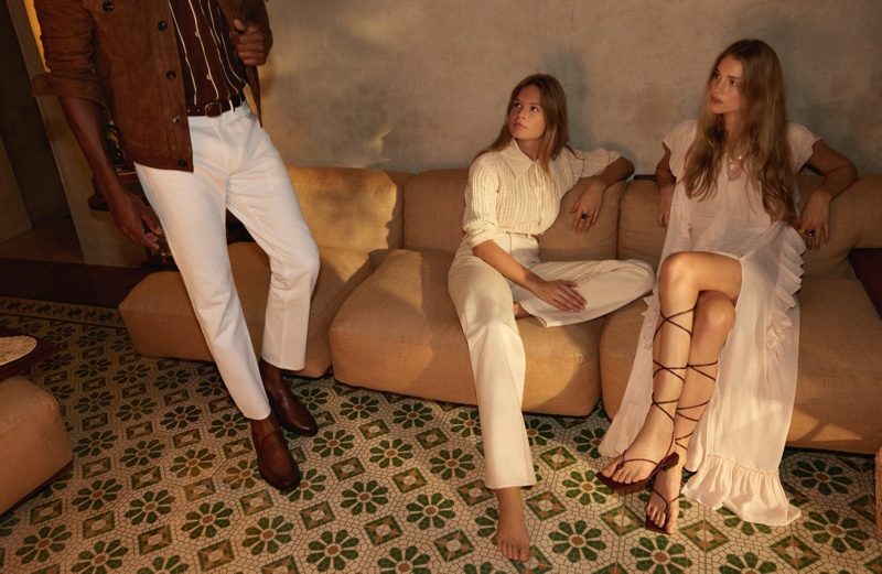 An image from Mango's spring 2020 advertising campaign