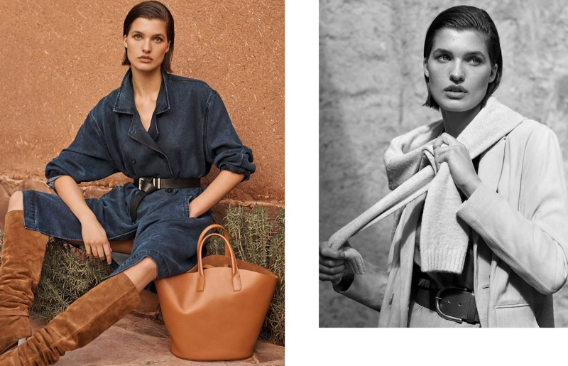 Masimo Dutti highlights neutrals style in Memories of a Journey editorial