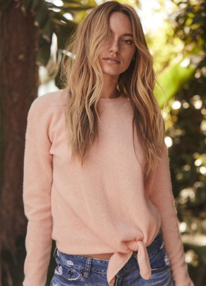 360 Cashmere highlights Johanne sweater from spring 2020 collection