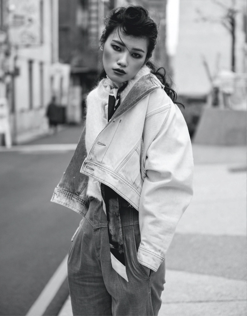 Meng Yu-Lai Embraces Teddy Boy Style for Vogue Taiwan