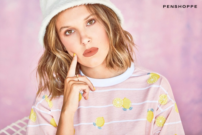 Millie Bobby Brown stars in Penshoppe spring-summer 2020 campaign