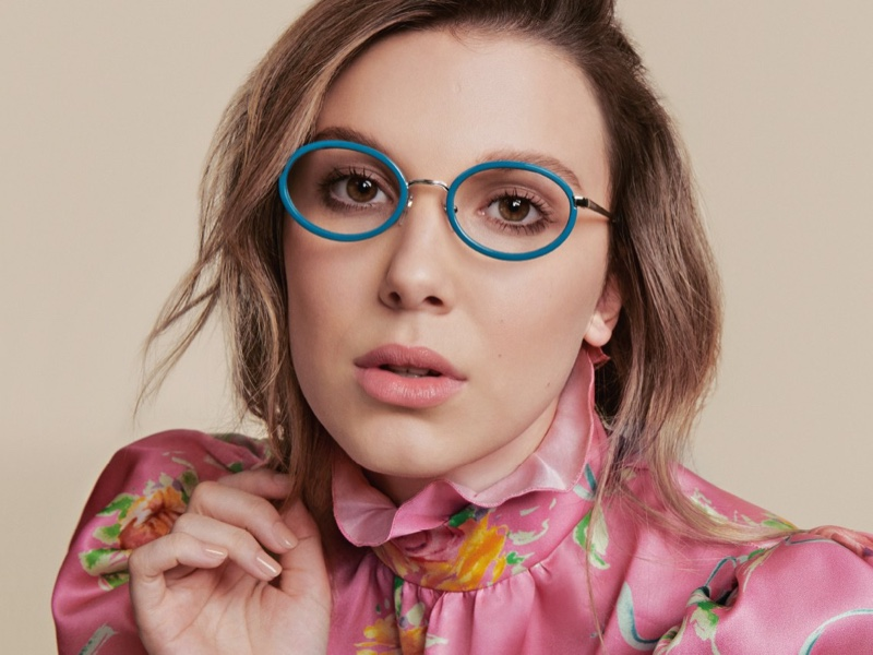Vogue Eyewear unveils Millie Bobby Bobby collection