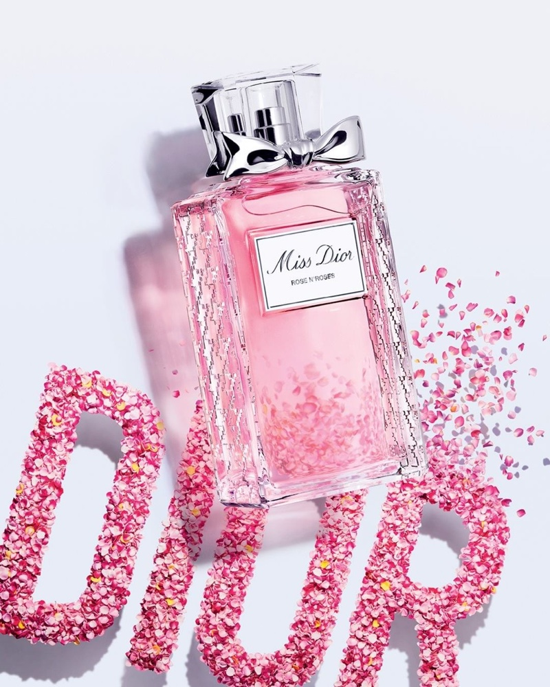 Miss Dior Roses N Roses perfume bottle