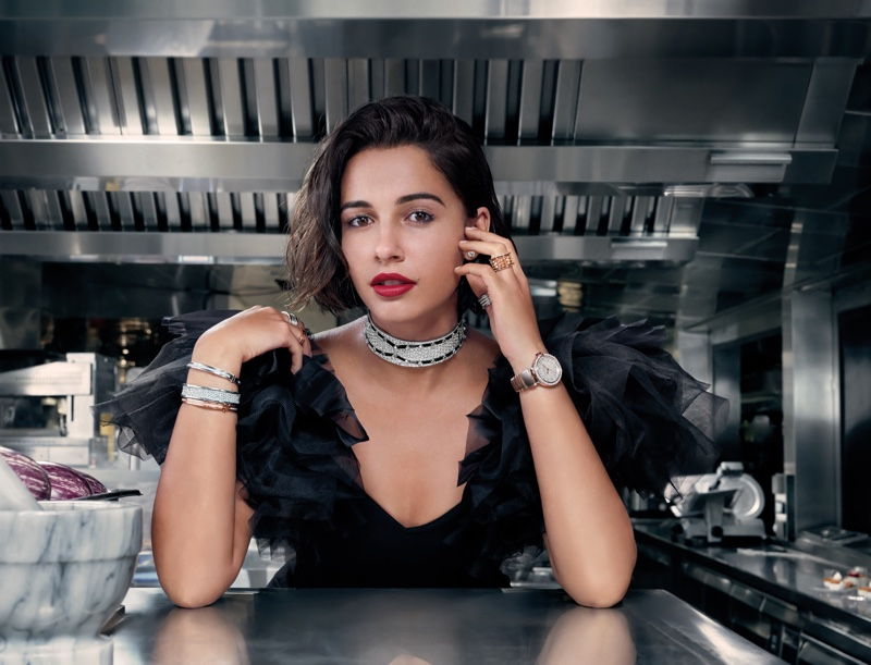 Naomi Scott stars in Bulgari Mai Troppo campaign