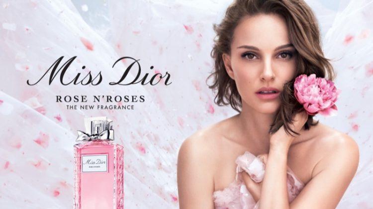 Natalie Portman stars in Miss Dior Roses N Roses fragrance campaign
