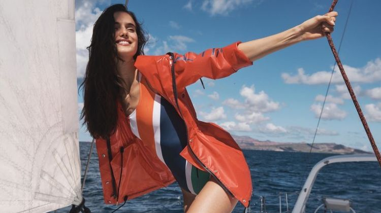 Blanca, Cato & Melodie Hit the Seas in Nautica Spring 2020 Campaign