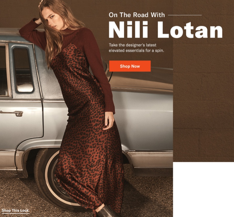 Nili Lotan Cami Gown $695, Houston Cashmere Sweater $895 and Rag & Bone Shawn Chelsea Booties $550