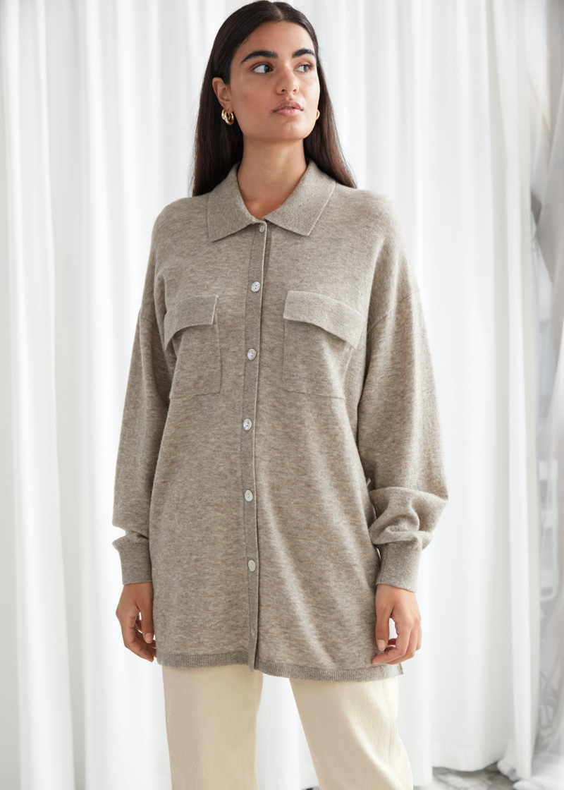 & Other Stories Relaxed Button Up Shirt $119