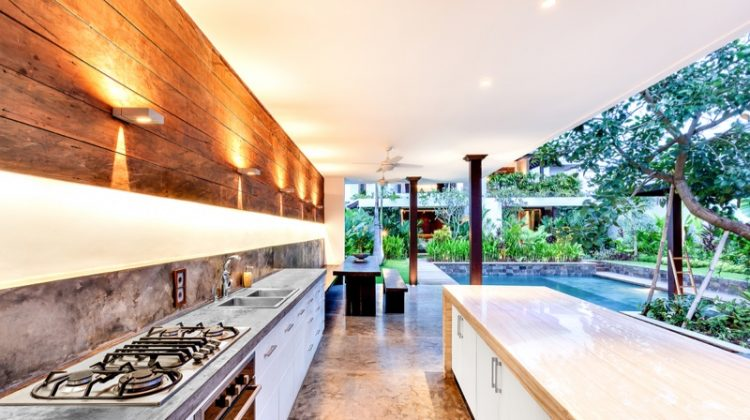 Outdoor Kitchen Lighting Counters Large