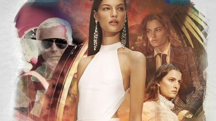 Model Faretta appears in Ralph Lauren spring-summer 2020 campaign